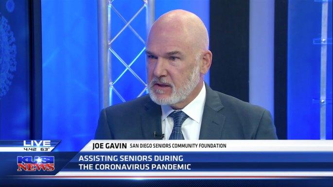 Joe Gavin speaks to KUSI News
