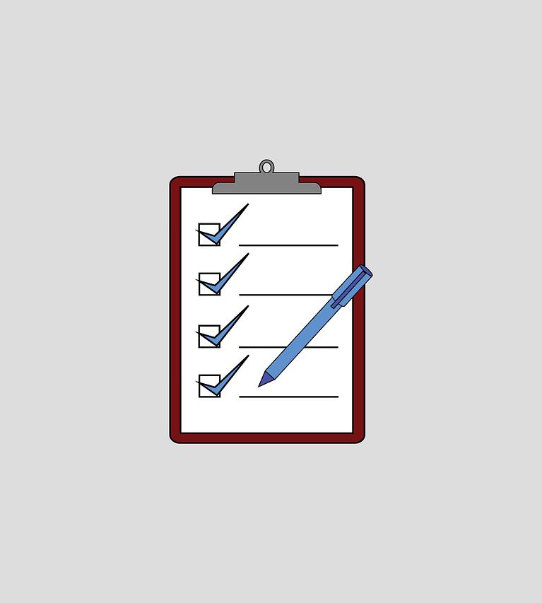 Checklist Survey Clipboard Pen  - jmexclusives / Pixabay