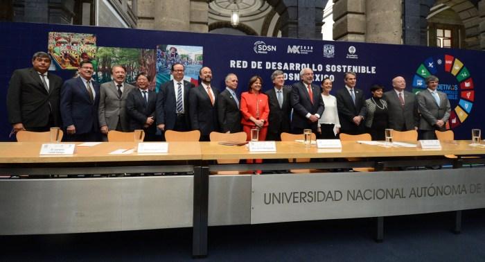 Lanzamiento Oficial de SDSN México