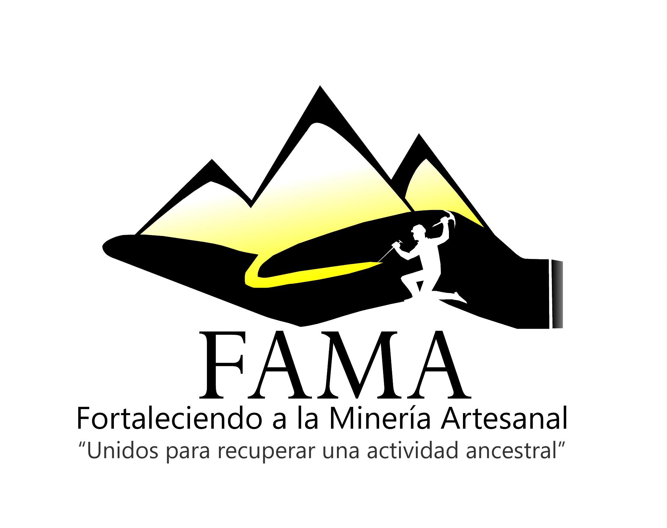 Logo Fortaleciendo a la minería artesanal