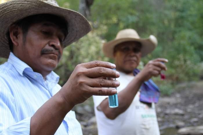 Monitoreo de la calidad del agua con comunidades