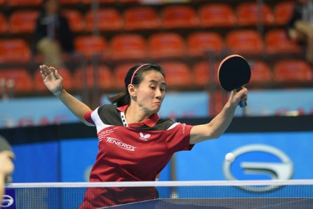 Liu Jia - photo by the ITTF