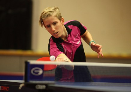 Kristin Silbereisen - photo by the ITTF