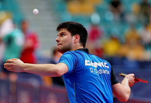 Dimitrij Ovtcharov - photo by the ITTF