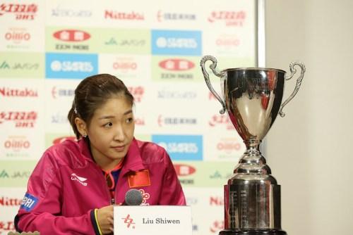 Liu Shiwen - photo by the ITTF