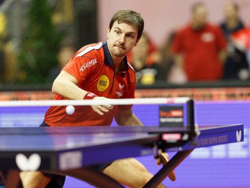 Timo Boll - photo by Holger Straede