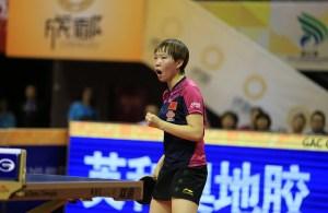 zhu yuling - photo by the ITTF