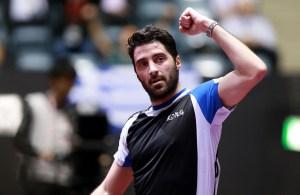 Panagiotis Gionis - photo by the ITTF