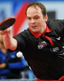 Paul Drinkhall - photo by the ITTF