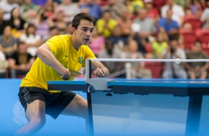 Hugo Calderano - photo by the ITTF