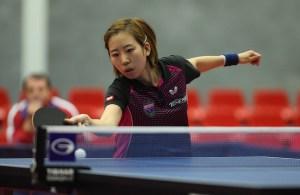 Yang Haeun - photo by the ITTF