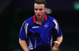 Simon Gauzy - photo by the ITTF