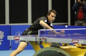 Hugo Calderano - photo by the ITTF