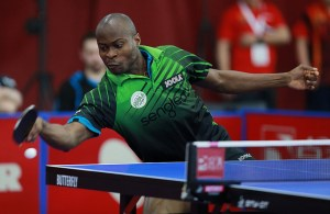 Quadri Aruna - photo by the ITTF