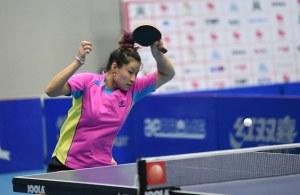 Shao Jieni - photo by the ITTF