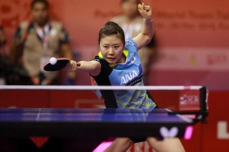 Ai Fukuhara - photo by the ITTF