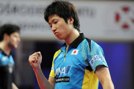 Jun Mizutani - photo by the ITTF