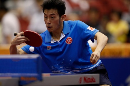 Wong Chun Ting - photo by the ITTF