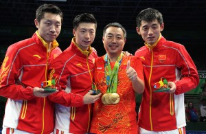 Team China - photo by the ITTF