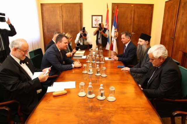 Састанак са председником Покрајинске владе у Новом Саду