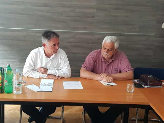 У Загребу одржана седница Председништва странке
