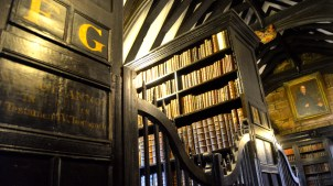 I was told by the tourist that the library was managed and housed priests, who dedicated their time to reading the numerous tomes.