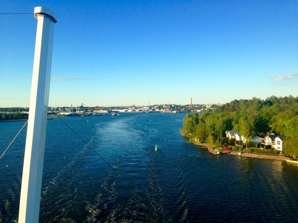To say the ferry ride to Sweden was anything short of spectacular would be a lie.
