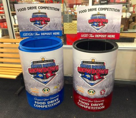 SDSU wins Showdown food drive