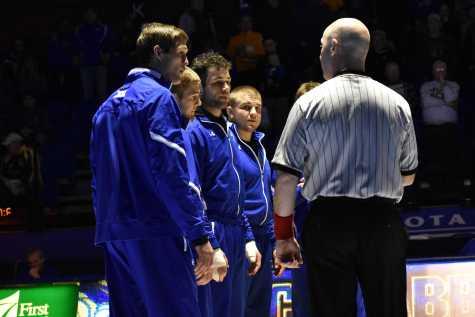 SDSU Wrestling against Oregon State