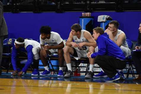 SDSU Men's Basketball against Oral Roberts