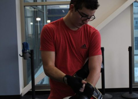 New student club packs punch: offers boxing, fitness training