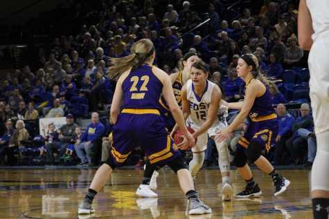 SDSU Women's Basketball against Western Illinois
