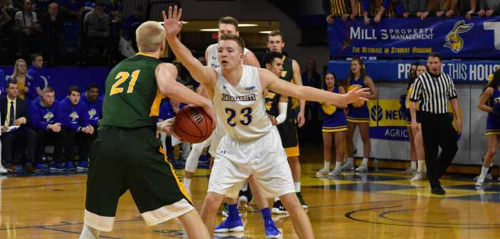 Lockdown defense puts Jacks at top of Summit League