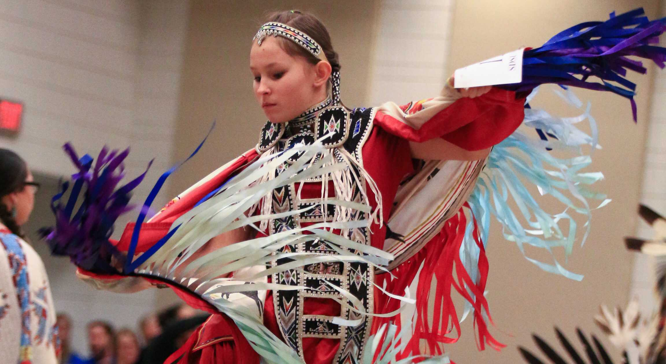 FILE PHOTO The South Dakota State University Wacipi unites Native American people around campus and across the state. The event will be held March 24 in the Volstorff Ballroom.