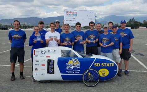First-place finish: engineering students pedal like no one else