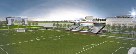 Soccer team eyes facility upgrade