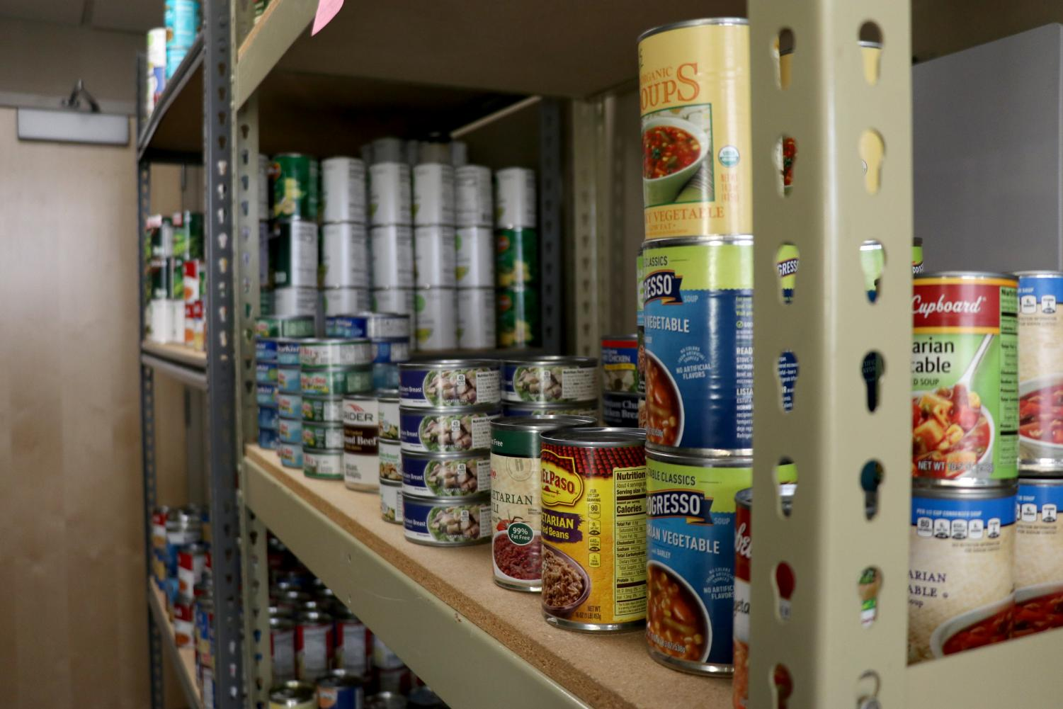 Jack's Cupboard is an on-campus pantry in Ben Reifel for students who struggle to purchase food. It is open 3:30-6:30 p.m. every Wednesday and Thursday.
