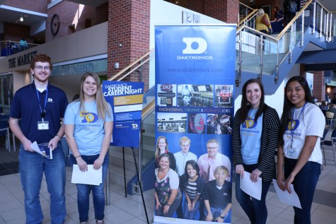 Daktronics hosts career night to connect with students