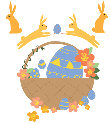 Students get idealistic about Easter baskets