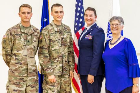 Hartze legacy lives through ROTC