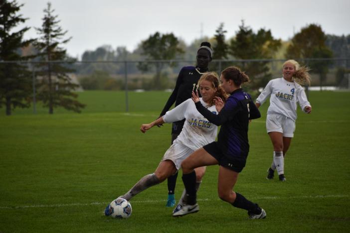 SDSU Soccer against Bellevue