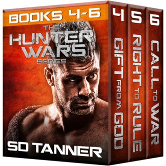 Hunter Wars Books 4-6 on Amazon