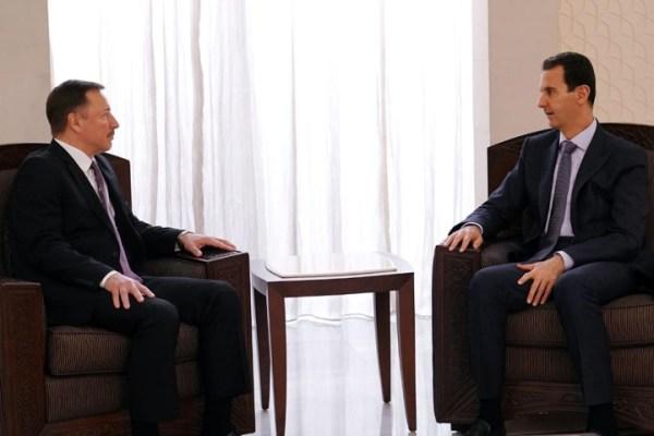 """د. نصر اليوسف """"روسيا باتت أقرب من أي وقت مضى إلى فتح بازار لبيع نظام الأسد"""""""