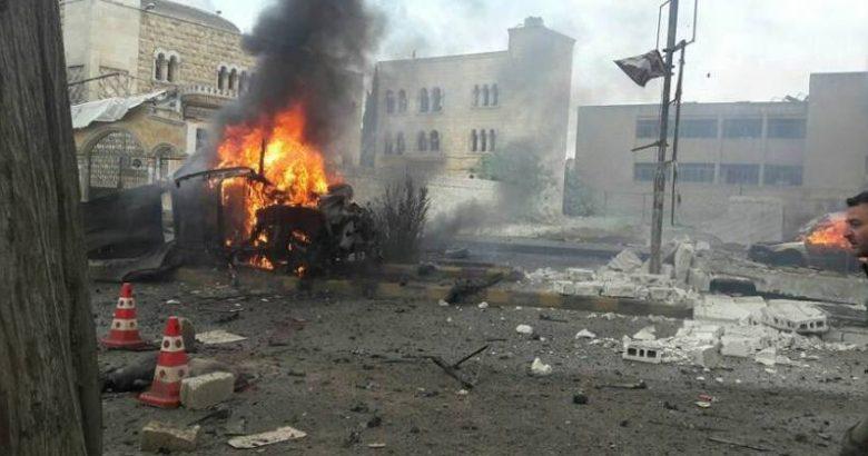 مقتل 5 بينهم رئيس مخفر.. جرّاء انفجار سيارة مفخخة في الباب