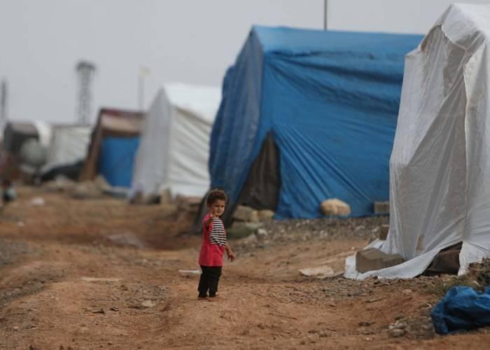 منظمة تؤكد أن أطفال سوريا يعيشون المرارة والألم في مخيمات متهالكة