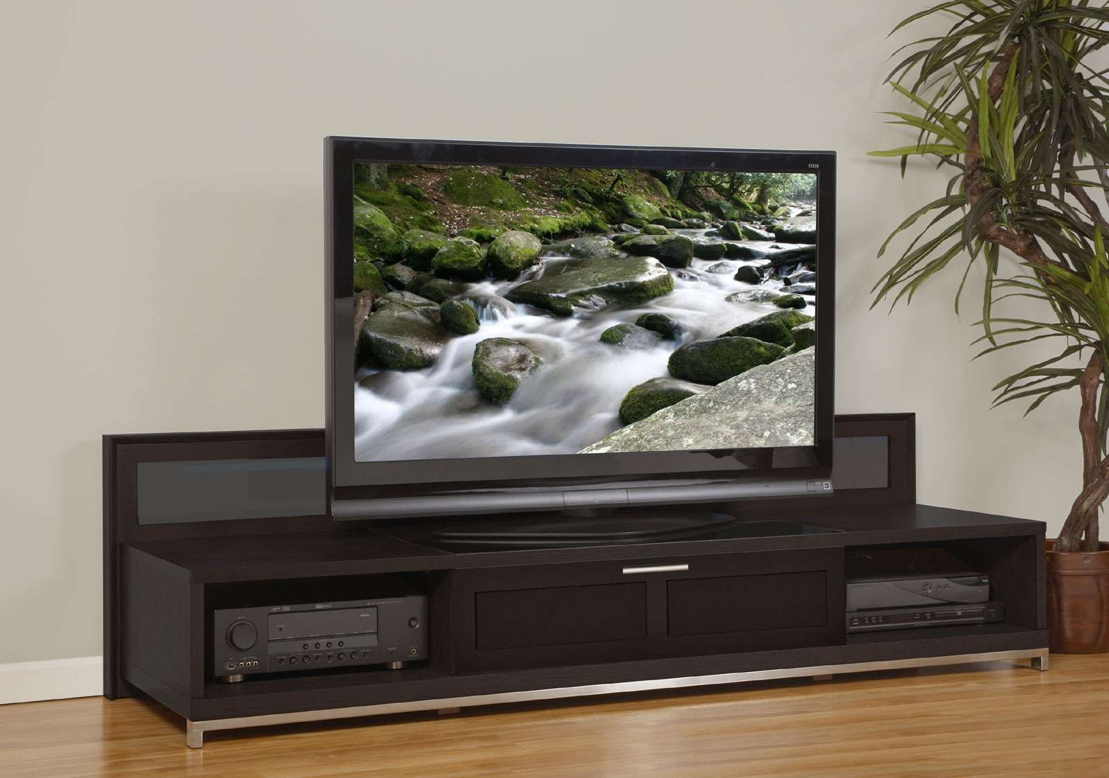 15 Photos Modern Low Profile Tv Stands