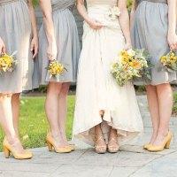 gray-bridesmaids-dresses-yellow-wedding-shoes - San Diego ...