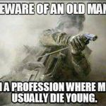 I am an American Old Man