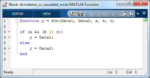 Analyzing MCDC for Cascaded Logic Blocks - MATLAB & Simulink - MathWorks Nordic