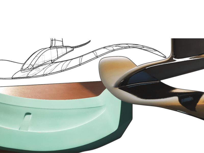 Etude de conception foil universel surf et kitesurf